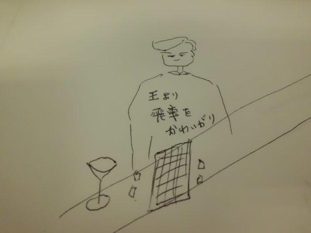 ■バー「山小屋」のマスターへ 今日のカクテル「将棋指しのマティーニ」